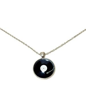 Vinyl Record Spinning Pendant/Necklace
